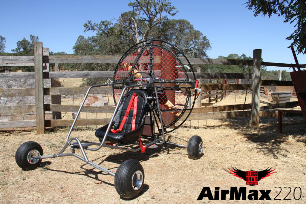 BlackHawk AirMax 220 Paramotor Powered Paraglider