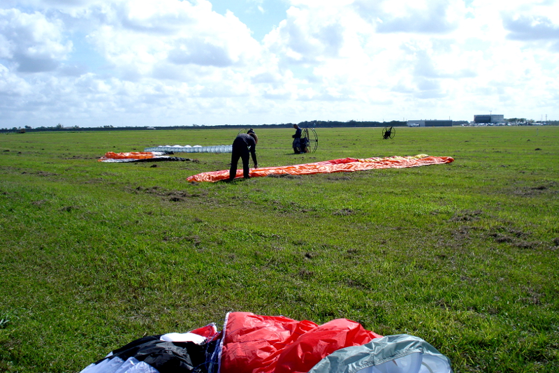 Ultralight Field for Powered Paragliding Lessons in Florida