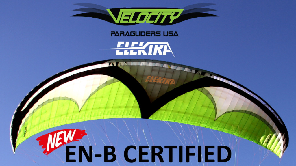 Velocity-Elektra-Paraglider-Certified-EN-B-Small
