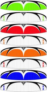 Velocity-Nitro-Paraglider-Colors
